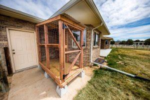 outdoor cat enclosure catio photo