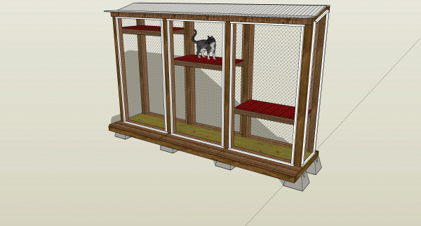 outdoor cat enclosure design by cat topia