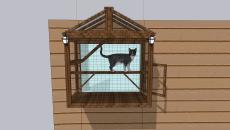 window catio outdoor kittens playpen