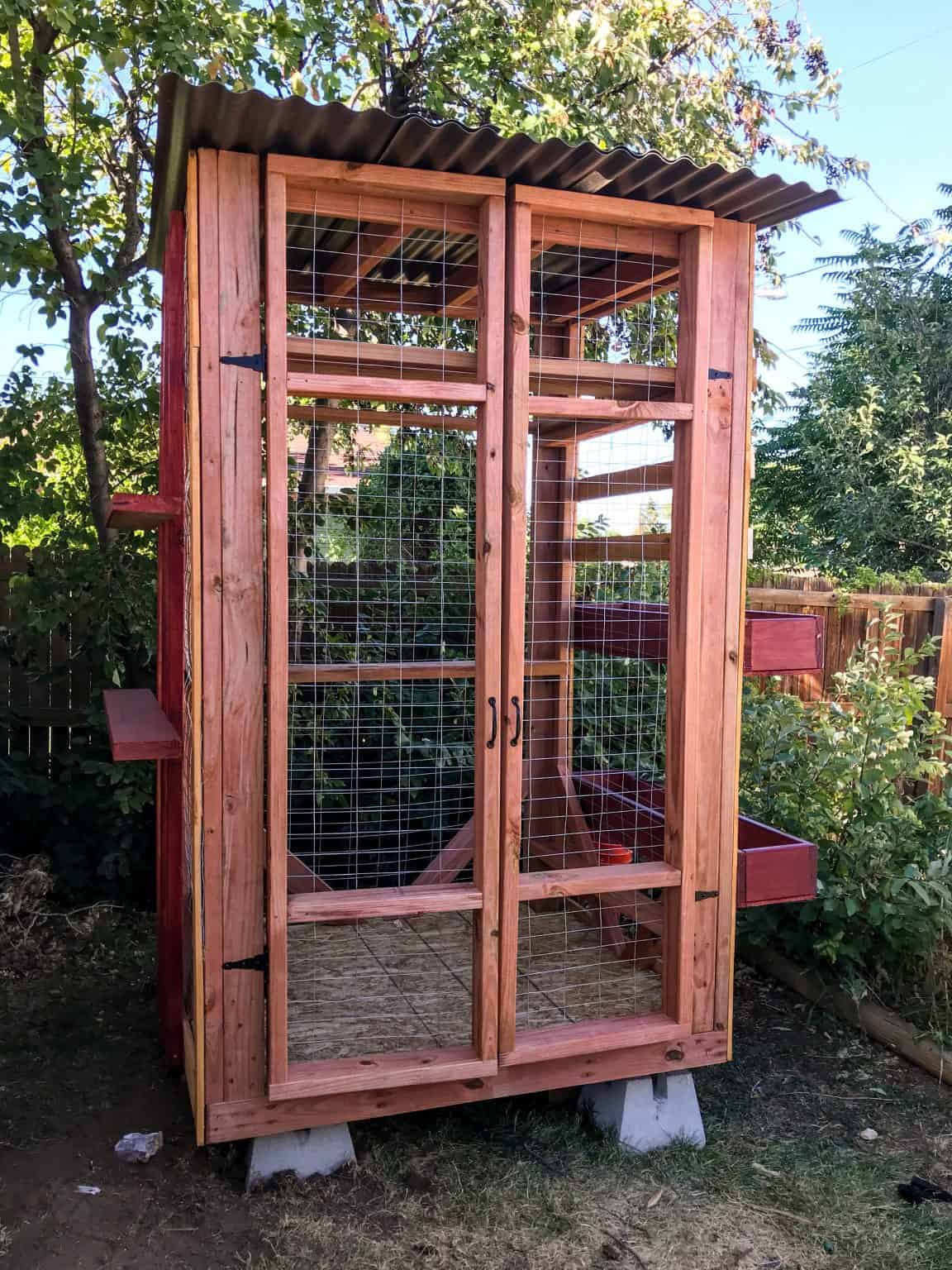 free standing catio