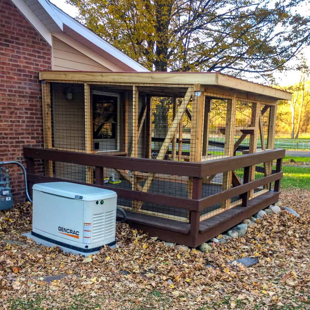 catio in indiana by cat topia