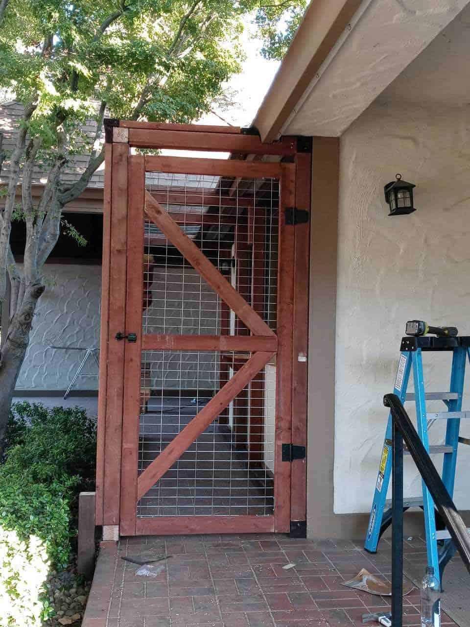 cat enclosure in california