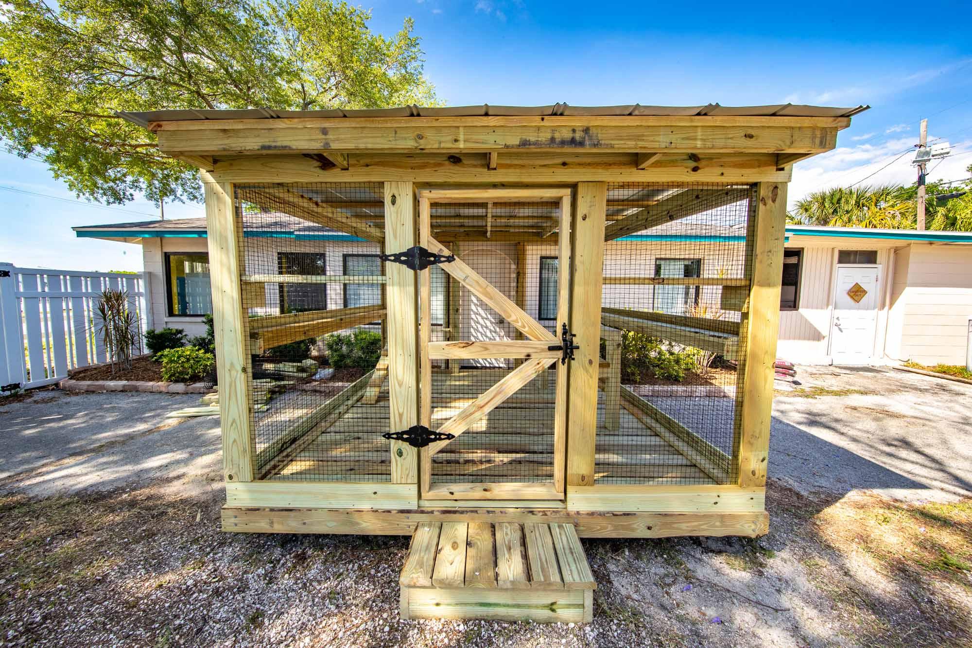 Humane Society of Manatee County Catio Build