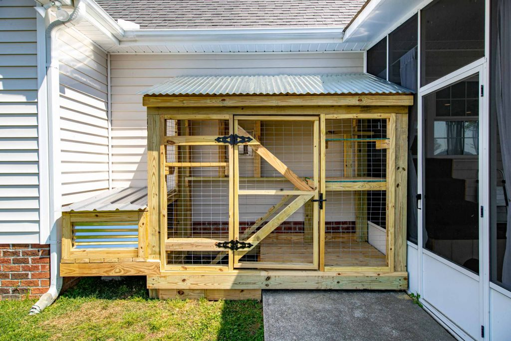 North Carolina catio build
